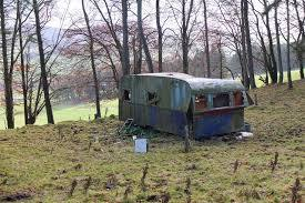 Derelict caravan, Ada Hill © Jim Barton :: Geograph Britain and ...