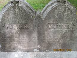 Grave of SAMUEL SMITH (11 November 1795-4 April 1878) and ABIGAIL (FOSTER)  SMITH (2 September 1802-9 January 1882)
