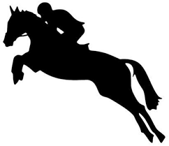 Amazon Com Horse With Rider Vinyl Decal Auto Window Car Truck Equestrian Jockey Jump Show Die Cut Vinyl Decal For Windows Cars Trucks Tool Boxes Laptops Macbook Virtually Any Hard Smooth Surface