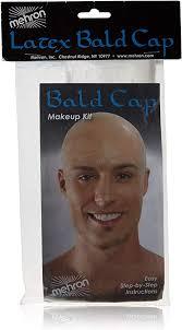 mehron professional latex bald cap