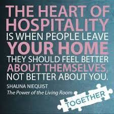 Image result for Quotes and images about hospitality