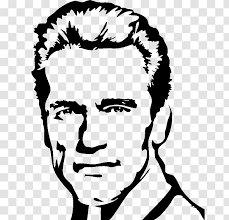 Arnold Schwarzenegger The Terminator Wall Decal Sticker Silhouette Transparent Png