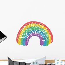 Gay Pride Quote Wall Decal Wallmonkeys Com
