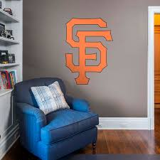 San Francisco Giants Alternate Logo Giant Officially Licensed Mlb Removable Wall Decal