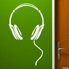Decal Headphones Buy Vinyl Decals For Car Or Interior Decal Factory Stickerpro Different Colors And Sizes Is Avalable Free World Wide Delivery