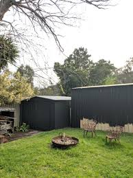 How To Spray Paint Colorbond House Nerd Shed Fence 5 House Nerd