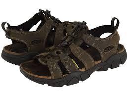keen daytona sandals for men in brown