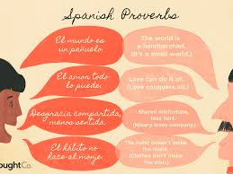 spanish proverbs and quotes for your life