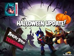 Angry Birds Transformers Halloween Update Out Now!