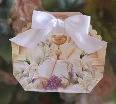 first holy communion favor box favor