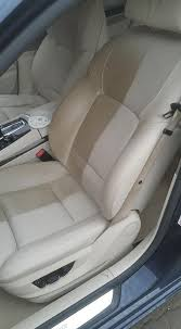 before after of leather seats