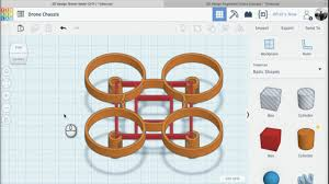Airgineers - Lesson 7: Assemble Drone Chassis in Tinkercad - YouTube