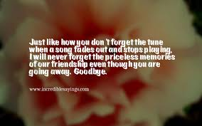 best goodbye messages for friends farewell quotes sayings