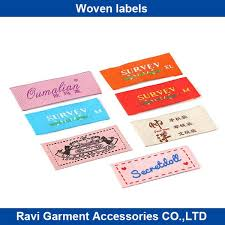custom clothing woven label patch iron