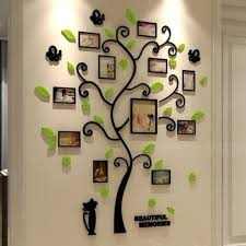 3d Photo Family Tree Wall Decal Sticker Mural Diy Home Baby Bedroom Decoration Wall Stickers Living Room Family Tree Wall Decal Wall Stickers