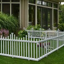 Freedom Connections Vinyl Garden Fence Panel Quick And Easy No Dig Installation For Sale Online Ebay