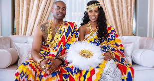 traditional wedding dress is as vibrant