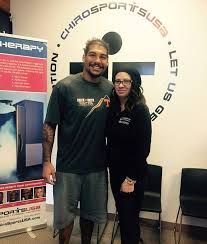 ChiroSports USA - We got to meet Mychal Rivera, tight end ...