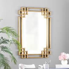 wall mirror wall decor gold walls