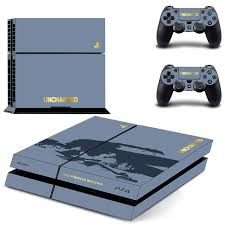 Uncharted 4 Ps4 Skin Sticker Decal Cover For Sony Ps4 Playstation 4 Console And 2 Controller Skins Consoleskins Co