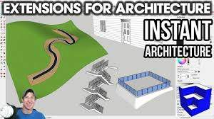 Sketchup Extensions For Architecture Instant Architecture By Vali Architects The Sketchup Essentials Architecture Instant Architect