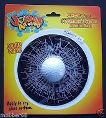 Golf Ball Broken Window Gag Welcome To Magician S Gallery