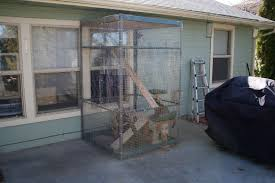 Pin By Liz Bleier On Woodworking Outdoor Cat Enclosure Cat Cages Cat Enclosure