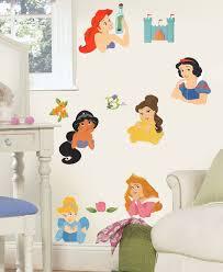 Disney Princess Stickers Posed Princesses Wall Decals