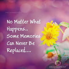 some memories life quotes