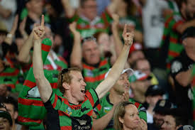 Fans at the 2014 NRL Grand Final