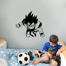 Dragon Ball Z Wall Decal Window Animation Sticker Decor Vinyl Stickers Letters
