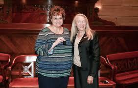 Senate secretary honored for 25 years on job