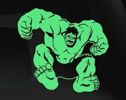 Hulk Vinyl Decal Etsy