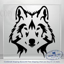 Wolf Car Decal Animal Truck Window Decals Vinyl Sticker Decor Bumper Laptop Art Ebay