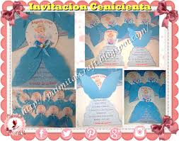 Palmitas Craft Invitacion De Cumpleanos