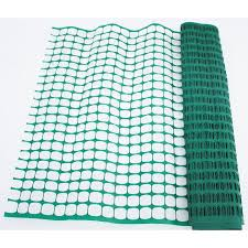 New 4 Ft X 50 Ft Green Snow Fence Wind Fence Plastic 57wf5 Uncle Wiener S Wholesale