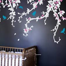 Ophelia Co Flowery Vines And Birdcage Wall Decal Wayfair