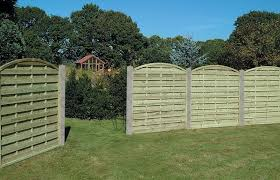 Arched Horizonal Fence Panel Cocklestorm Fencing