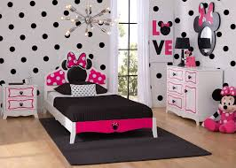 minnie mouse wooden twin bedroom