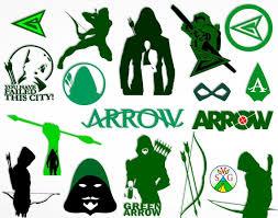 Dc Green Arrow Vinyl Decal For Laptop Windows Wall Car Boat