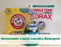 diy liquid laundry detergent salt
