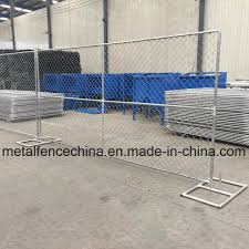 China 6 X 12 Chain Link Mobile Fences Temporary Construction Fence Panel China Temporary Construction Fence Panel Temporary Construction Panel