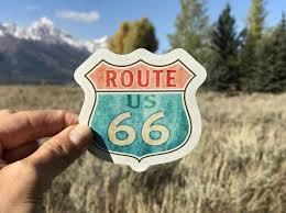 Laptops Stickers Vinyl Stickers Route 66 Boho Hippie Etsy