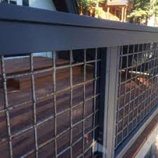 Wild Hog Railing Panels Welded Mesh Steel Panels Decksdirect