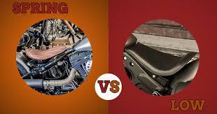 custom bike seats low seats vs spring