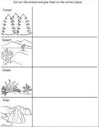 Animal's habitat worksheets for kids (With images) | Animal habitats, Animal  habitats preschool, Worksheets for kids