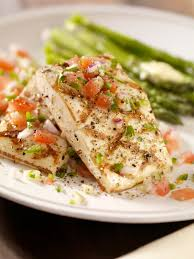 Grilled Halibut with Fresh Pico de ...
