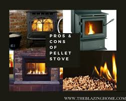 pros cons of pellet stove