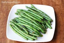 sauteed green beans with er and