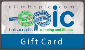 gift cards epic climbing and fitness
